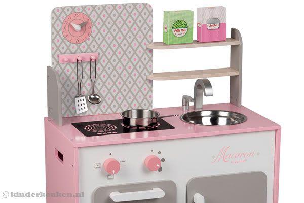 janod maxi cuisine macaron. Black Bedroom Furniture Sets. Home Design Ideas