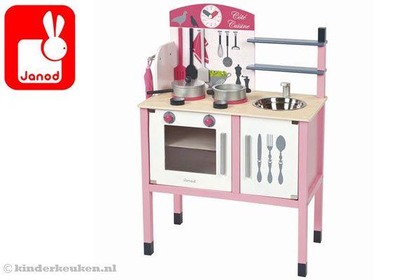 Janod Keuken Roze : Janod keuken roze.