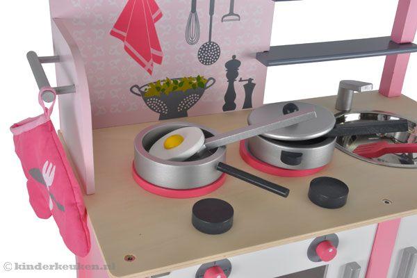 Houten Speelgoed Keuken Janod : Home > Kinderkeuken > Janod > Roze keuken