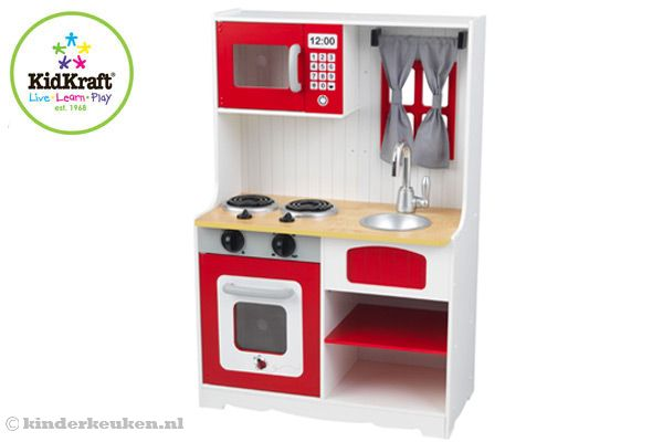 Kidkraft red country kinderkeuken
