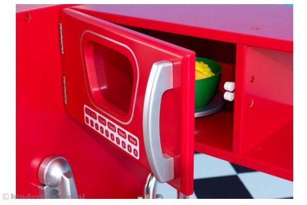 Rode Keuken Accessoires : Kidkraft Rode vintage keuken Kinderkeuken.nl
