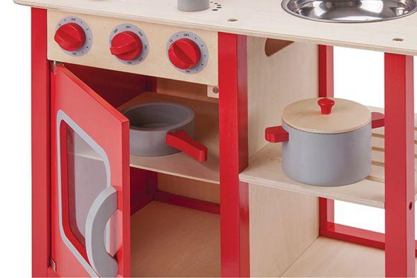 Kinderkeuken Nl New Classic Toys Bon Appetit Rood