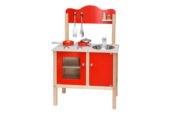 Combi keuken rood