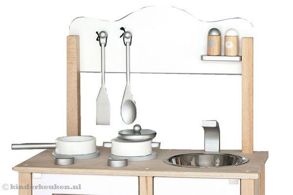 Houten Keuken Accessoires : Home Combi keuken witKinderkeuken nl