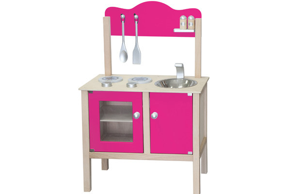 Simply keuken roze