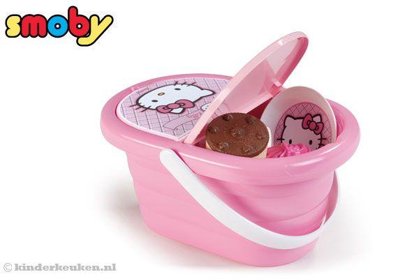 Smoby hello kitty picknickmand - Cuisine smoby hello kitty ...
